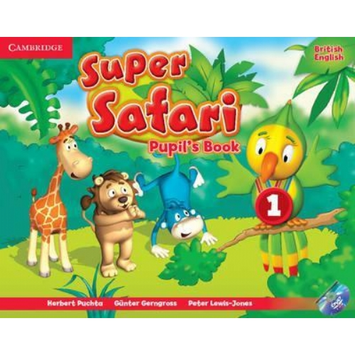 Cambridge Super Safari1 Pupils Book with DVD-ROM