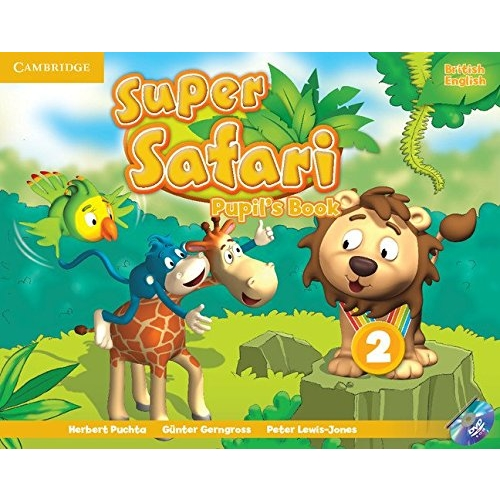 Super Safari2 Pupils Book with DVD-ROM