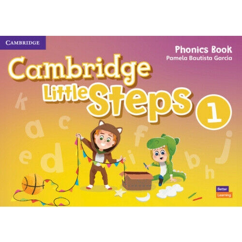 Cambridge Little Steps American English, Level 1 Phonics Workbook