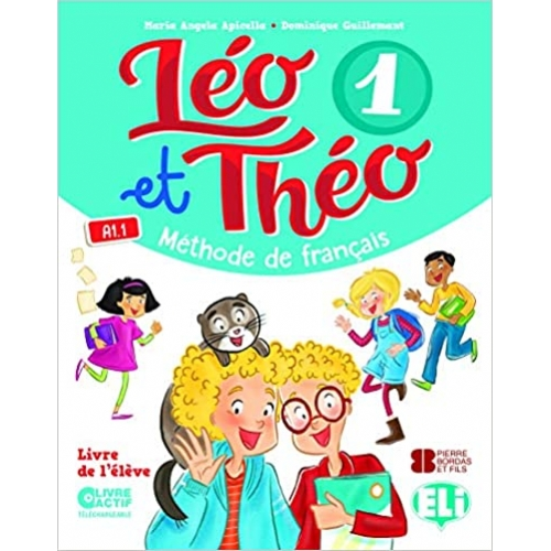 Léo Et Théo 1 - Sb + Downloadable Student`S Digital Book  - Elı Yayınevi