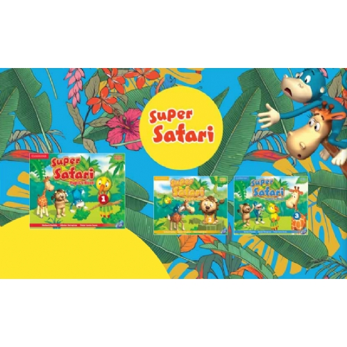 Cambridge Super Safari3 Activity Book