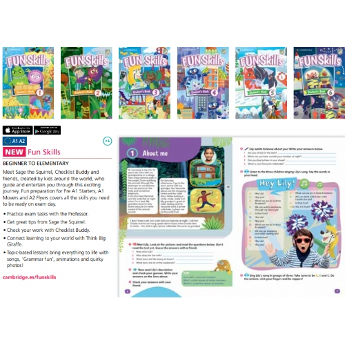 Cambridge Fun Skills Level 6 Flyers Student`s Book with Home Fun booklet and mini trainer