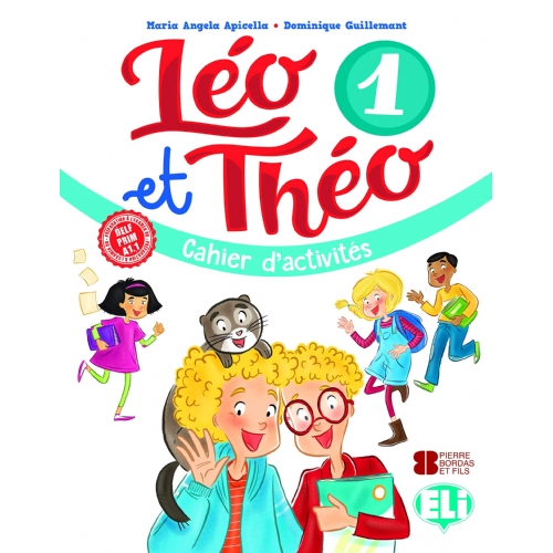 Leo Et Theo 1 - Wb + Audio Cd