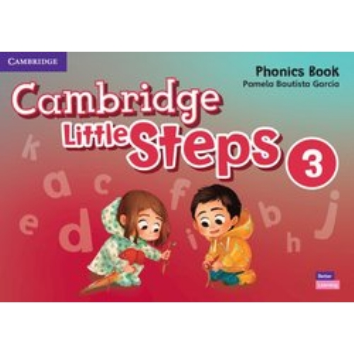 Cambridge Little Steps American English, Level 3 Phonics Workbook